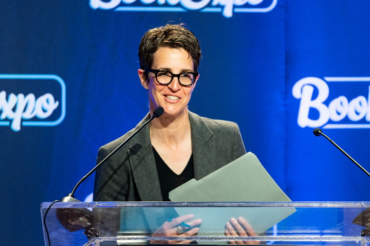 MSNBC host Rachel Maddow (Getty Images)