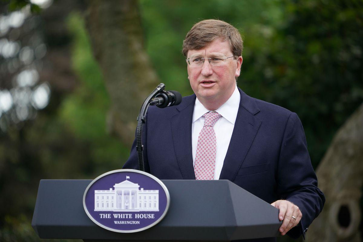 Mississippi Gov. Tate Reeves (MANDEL NGAN/AFP via Getty Images)