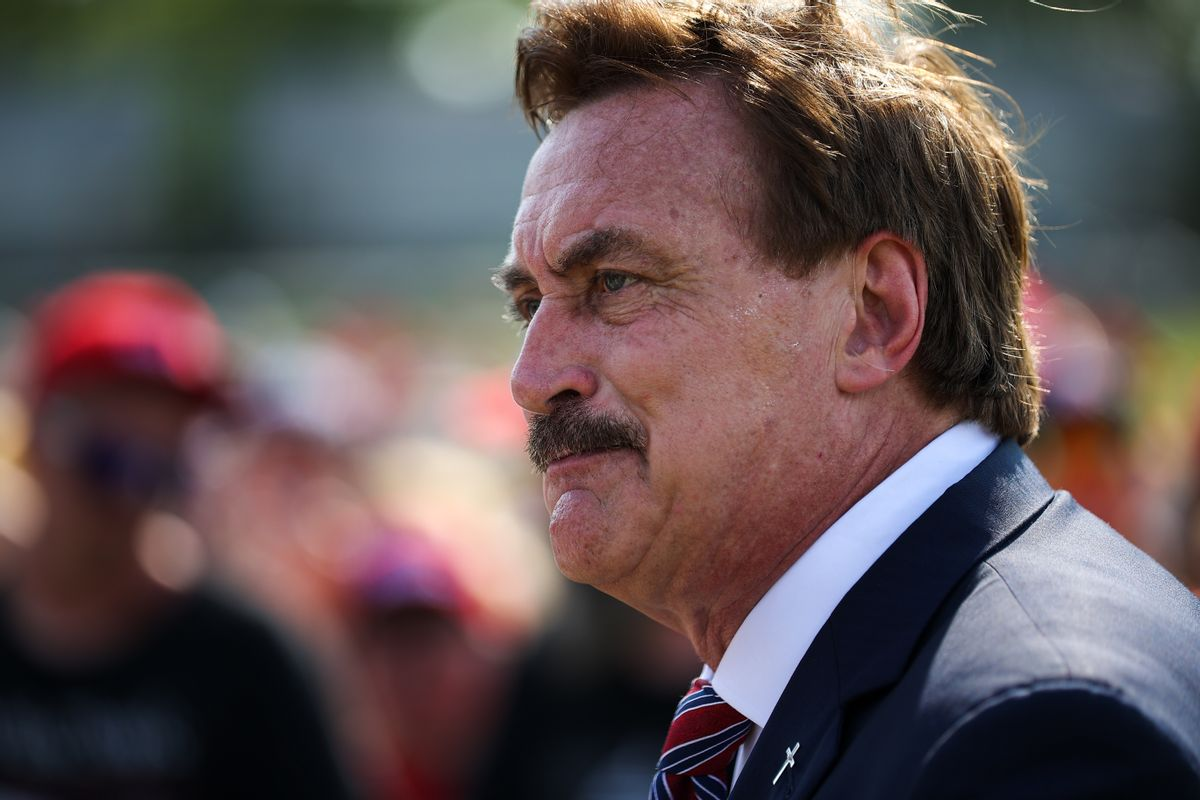 MyPillow CEO Mike Lindell (Tayfun Coskun/Anadolu Agency via Getty Images)