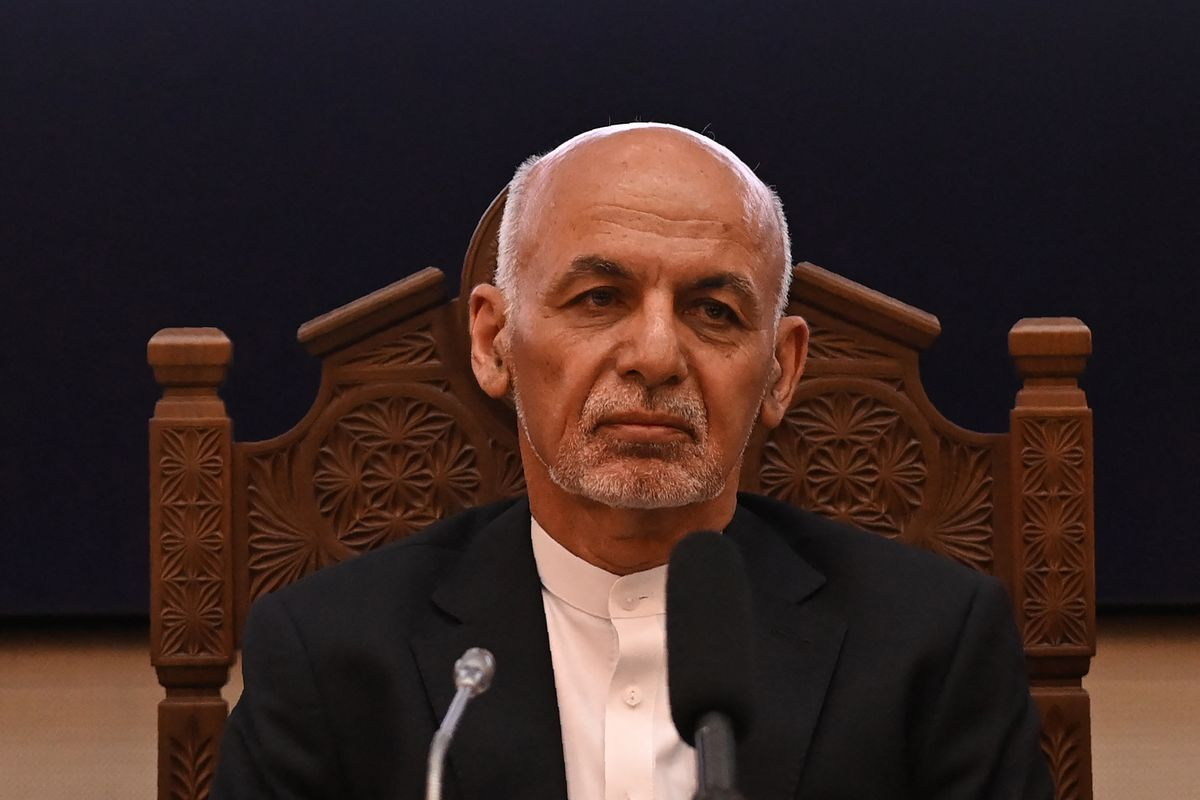 Afghanistan's President Ashraf Ghani (SAJJAD HUSSAIN/AFP via Getty Images)