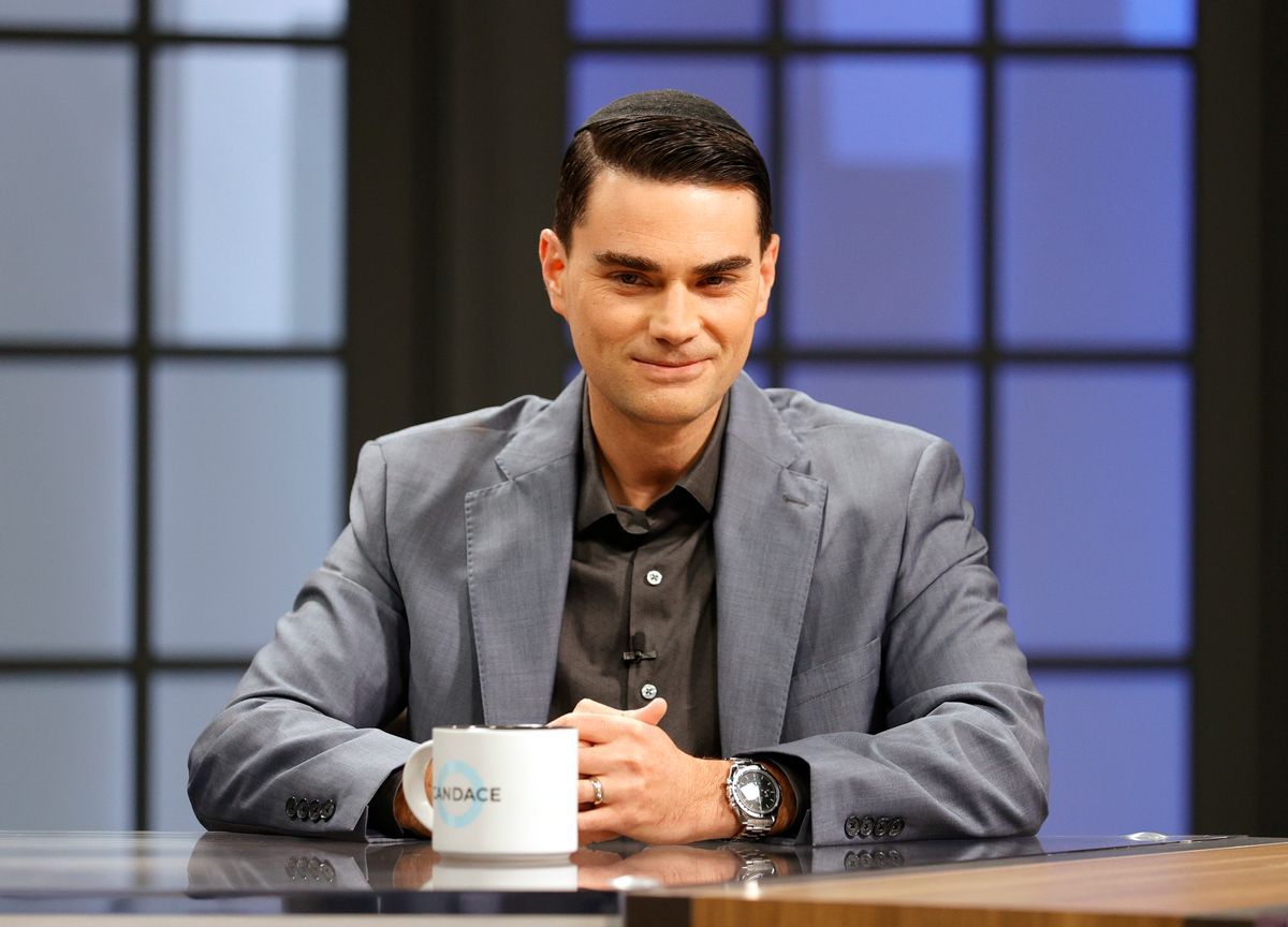 Political pundit and author Ben Shapiro. (Getty Images)