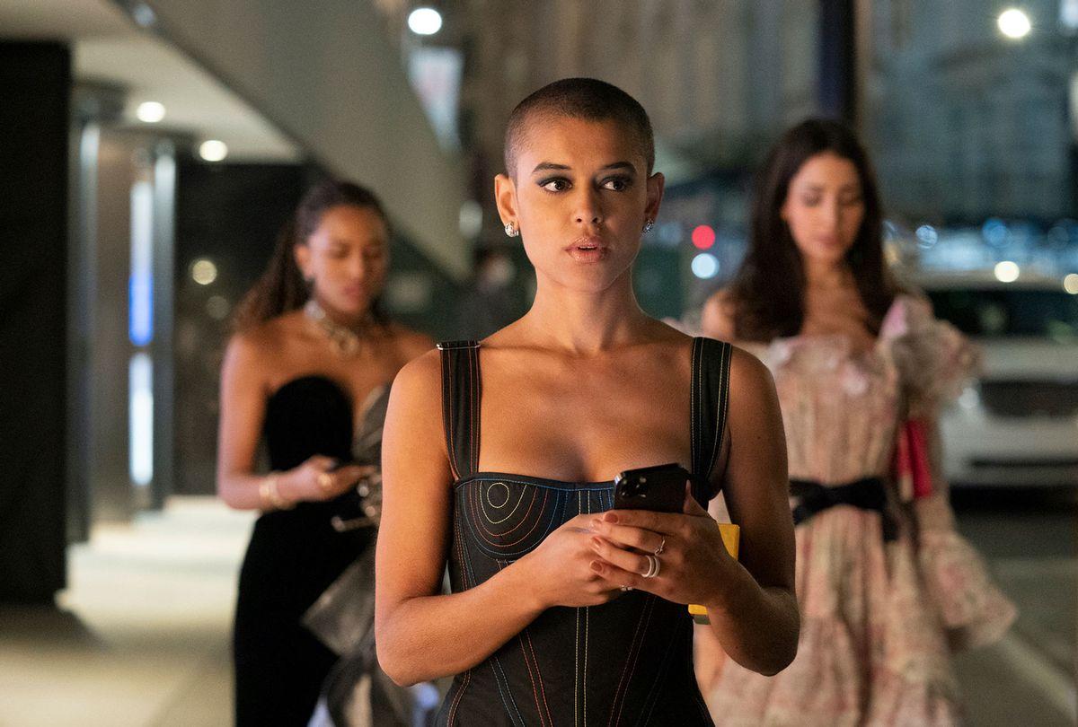 """Jordan Alexander in """"Gossip Girl"""" (Karolina Wojtasik/HBO Max)"""