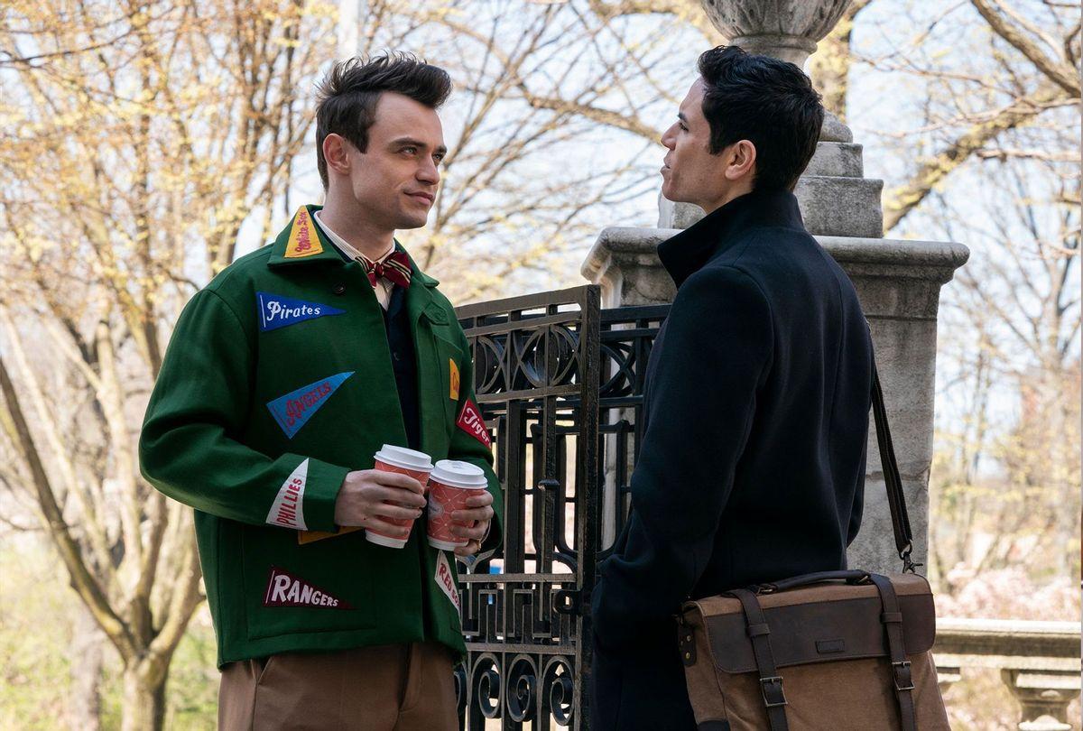 Thomas Doherty and Jason Gothay on Gossip Girl (HBO Max)