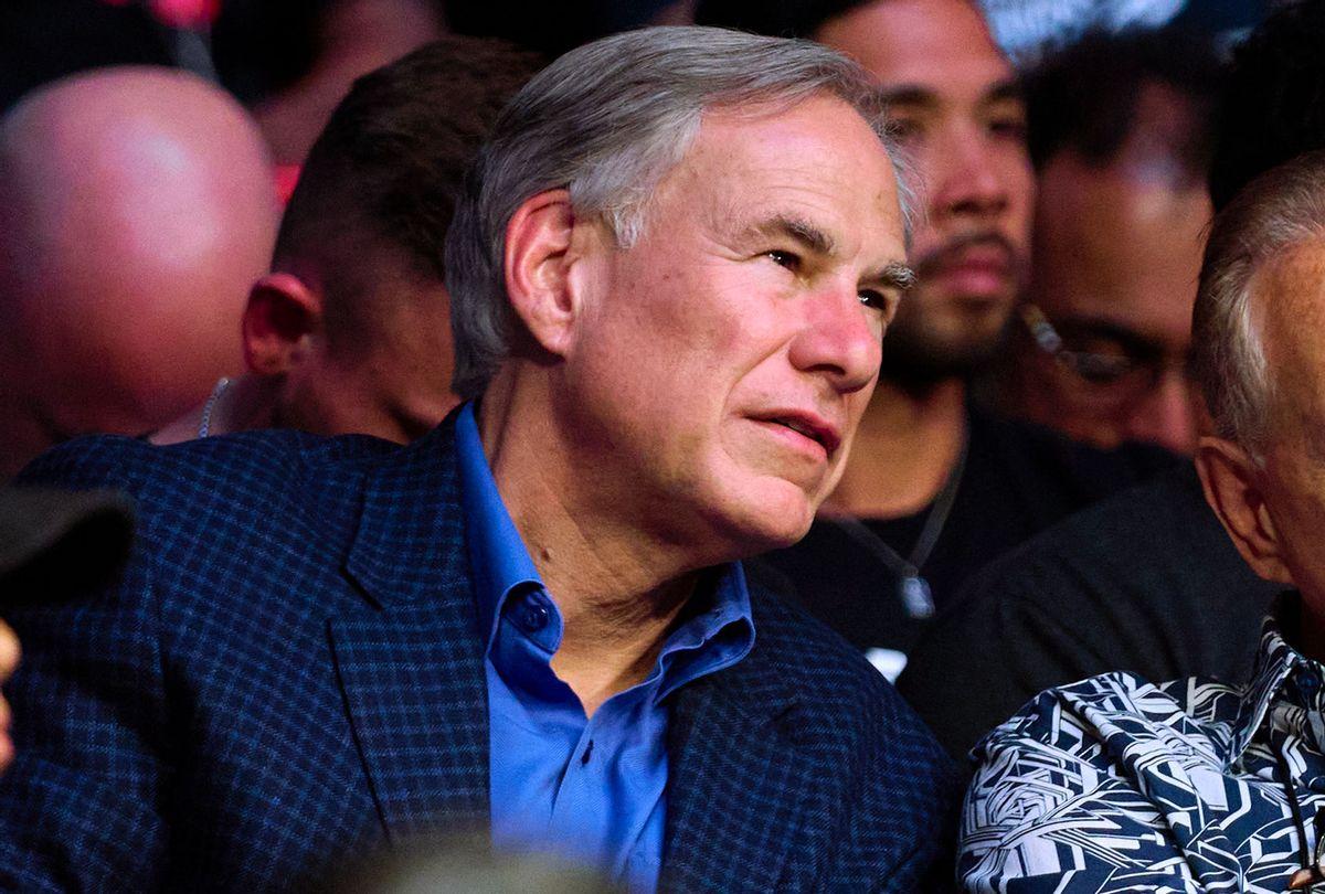 Governor of Texas Greg Abbott (Getty Images/Cooper Neill/Zuffa LLC)