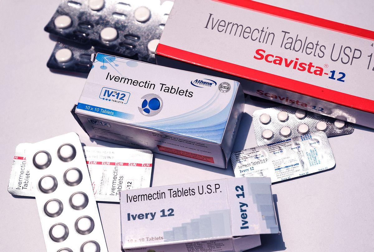 Tablets of Ivermectin drugs (Soumyabrata Roy/NurPhoto via Getty Images)