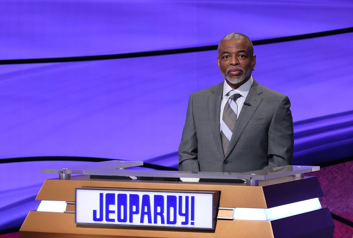 "LeVar Burton guest-hosts ""Jeopardy!"" (Jeopardy Productions, Inc.)"