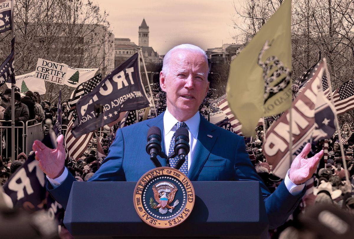 Joe Biden   Trump Supporters  (Photo illustration by Salon/Getty Images)