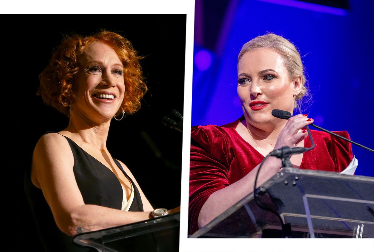 Kathy Griffin and Meghan McCain (Photo illustration by Salon/Getty Images)