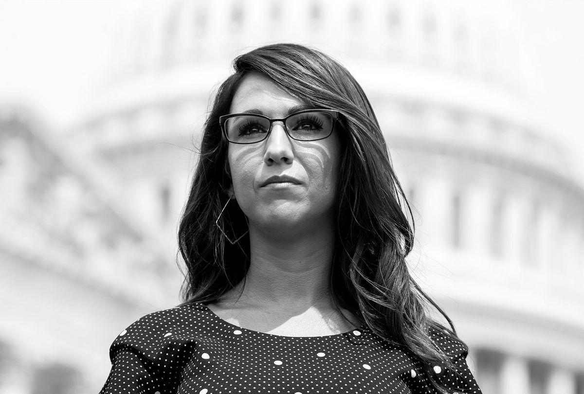 Rep. Lauren Boebert, R-Colo. (Tom Williams/CQ-Roll Call, Inc via Getty Images)