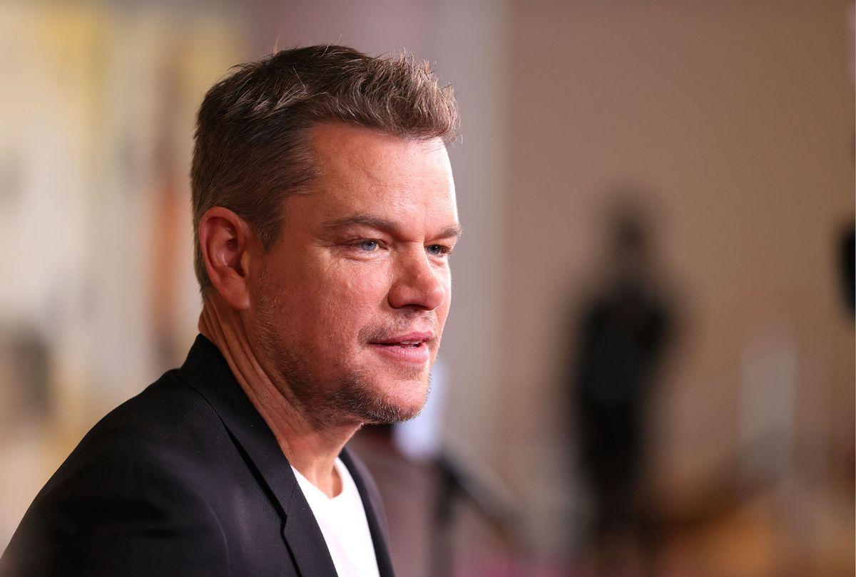 Matt Damon (Theo Wargo/Getty Images)