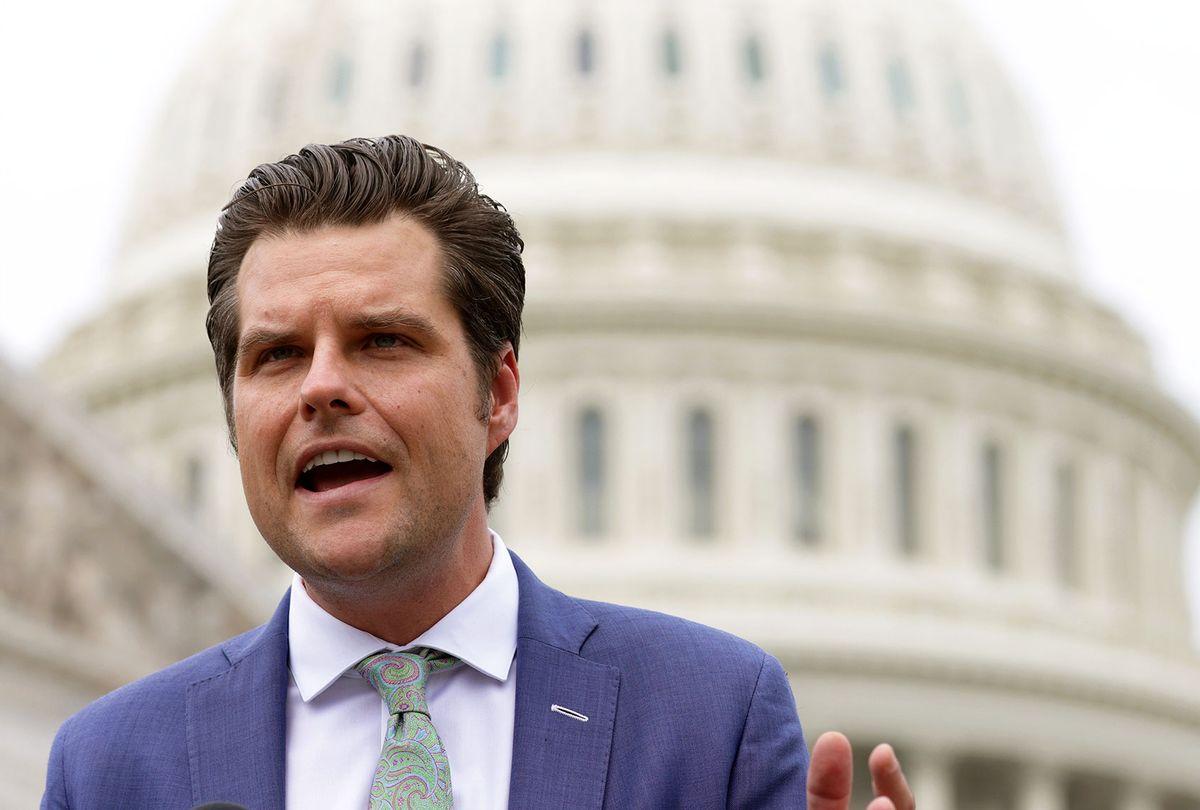 U.S. Rep. Matt Gaetz (R-FL) (Alex Wong/Getty Images)