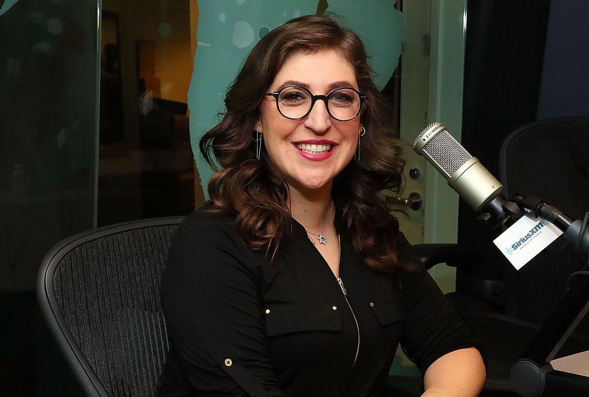 Actress Mayim Bialik (Astrid Stawiarz/Getty Images)