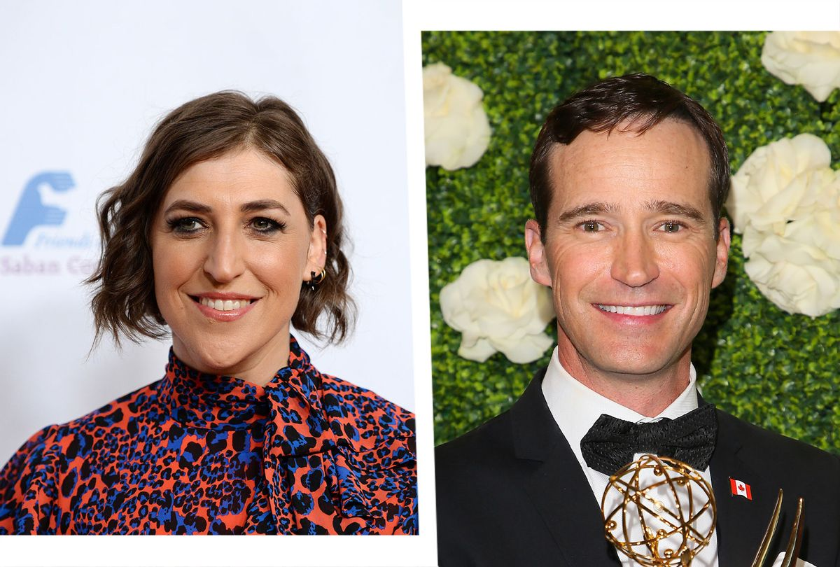 Mayim Bialik and Mike Richards (Photo illustration by Salon/Getty Images)