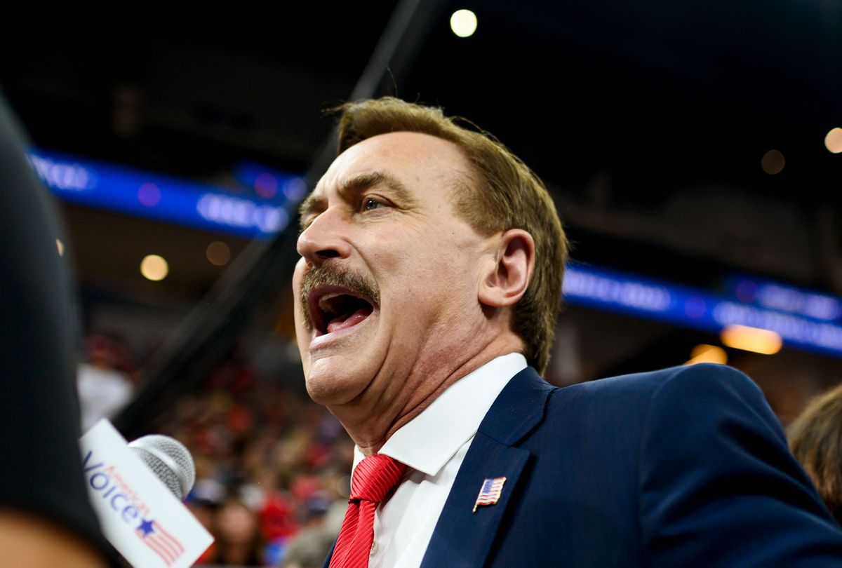 Mike Lindell, CEO of My Pillow (Stephen Maturen/Getty Images)
