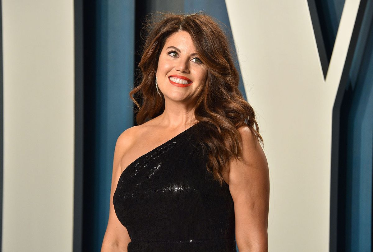 Monica Lewinsky attends the 2020 Vanity Fair Oscar Party on February 09, 2020 (David Crotty/Patrick McMullan via Getty Images)