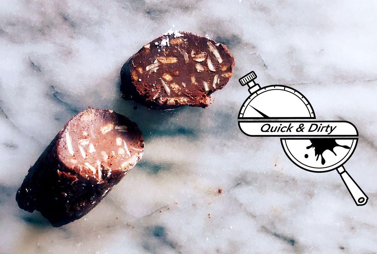 Chocolate Salami (Mary Elizabeth Williams)