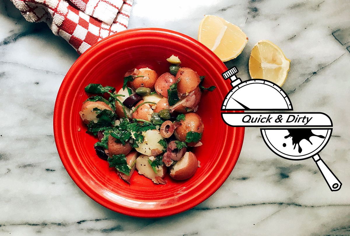 Cypriot Potato Salad (Mary Elizabeth Williams)