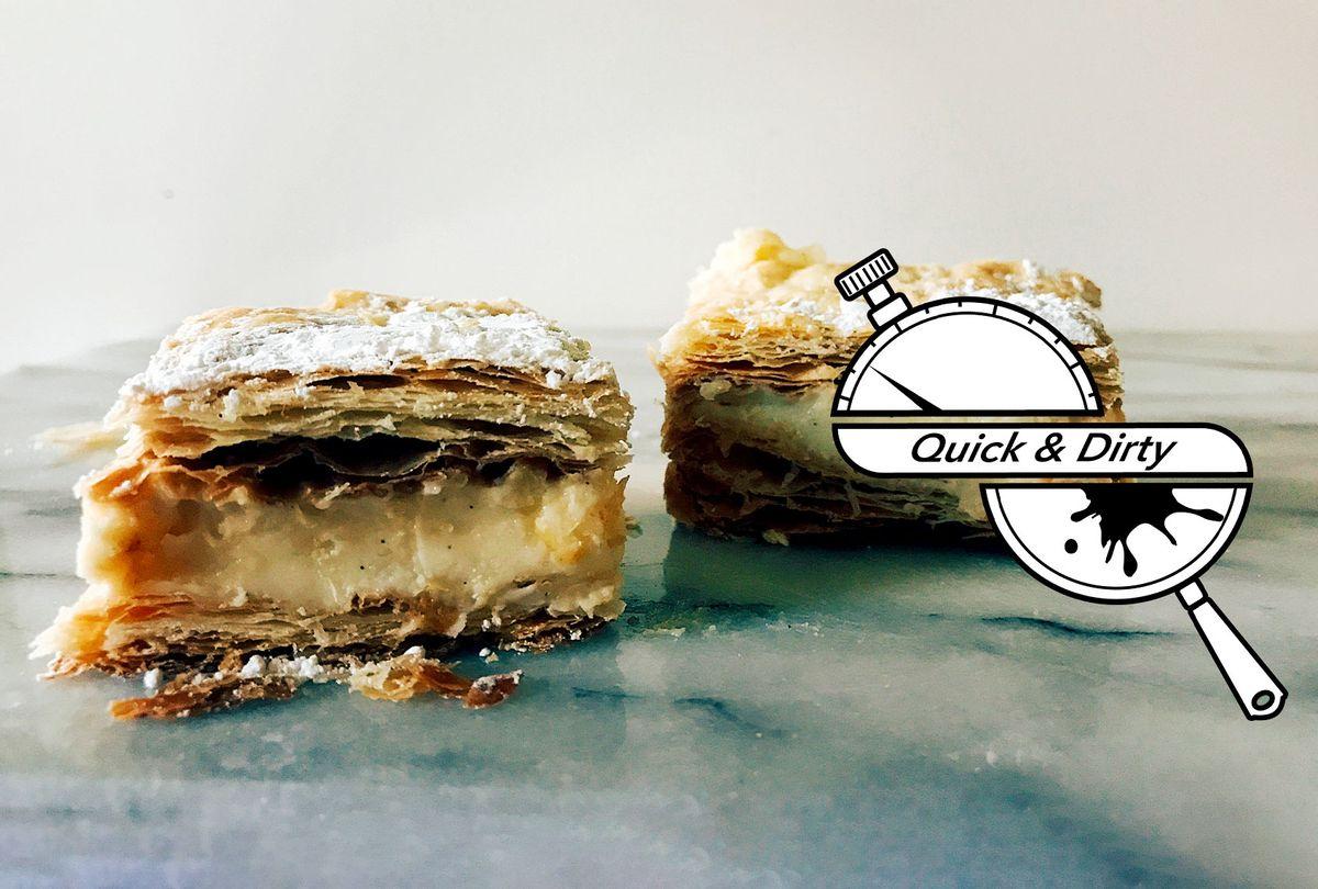 Vanilla Custard Slice (Mary Elizabeth Williams)