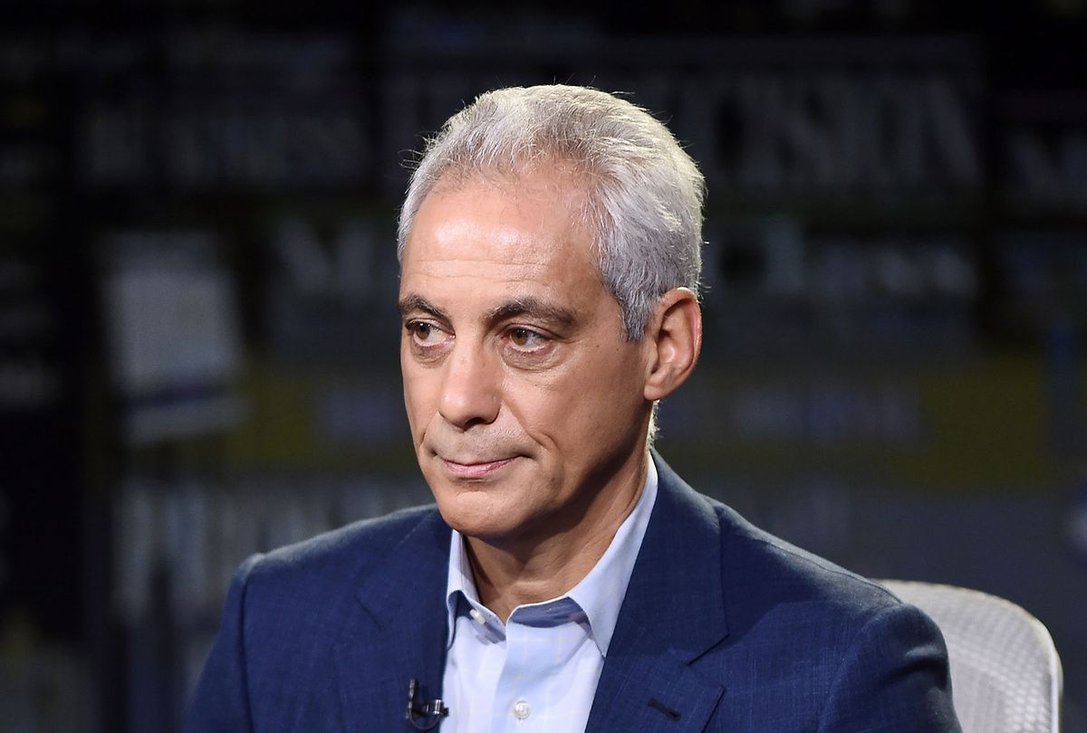 Former White House Chief of Staff and Chicago Mayor Rahm Emanuel (Steven Ferdman/Getty Images)