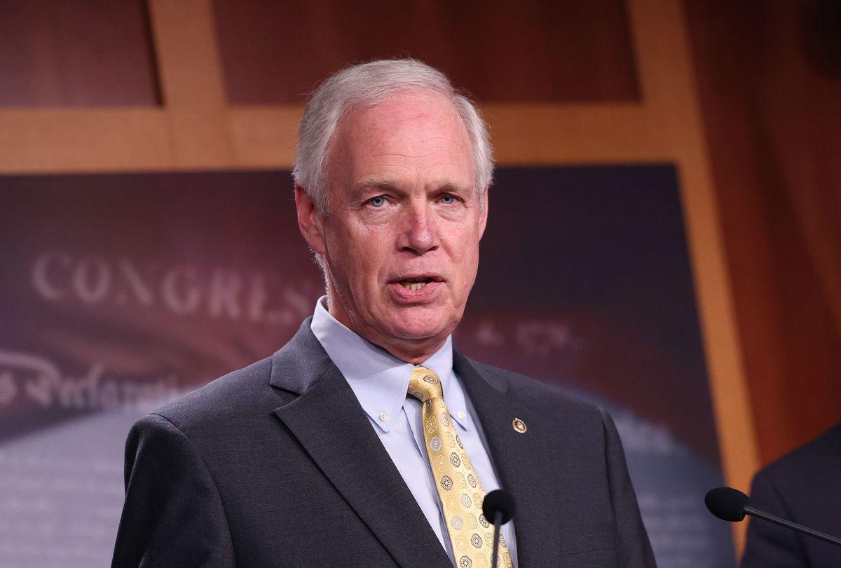 Sen. Ron Johnson (R-WI) (Kevin Dietsch/Getty Images)