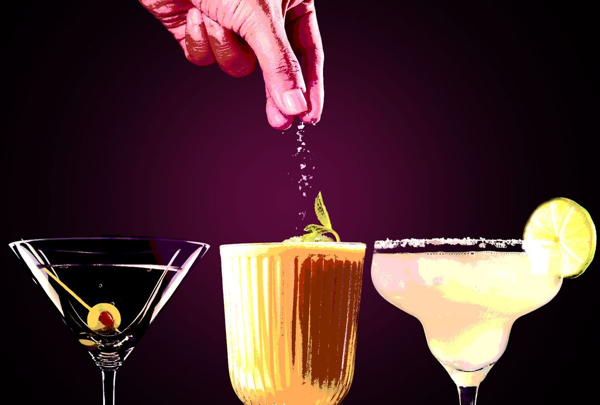 Martini, Mango Lassi and Margarita, with a pinch of salt (Photo illustration by Salon/getty Images)