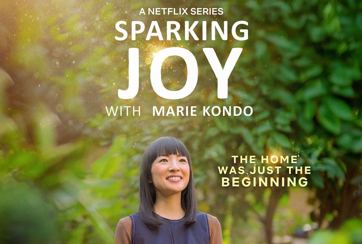 Sparking Joy with Marie Kondo (Netflix)