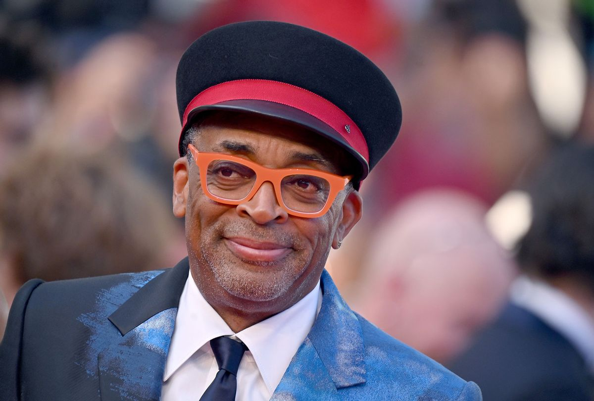 """Spike Lee attends the final screening of """"OSS 117: From Africa With Love"""" and closing ceremony during the 74th annual Cannes Film Festival on July 17, 2021 in Cannes, France. (Lionel Hahn/Getty Images)"""
