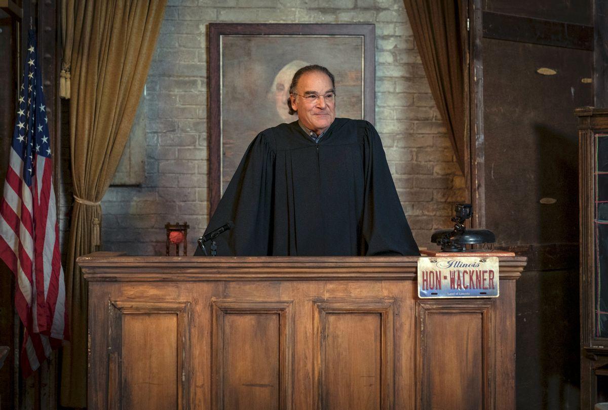 "Mandy Patinkin as Judge Wackner on ""The Good Fight"" (Elizabeth Fisher©2021 Paramount+, Inc.)"