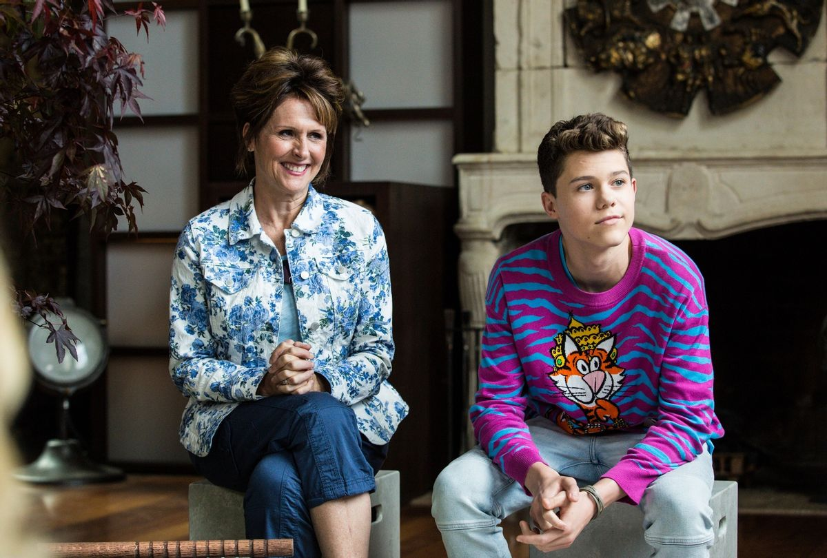 """Molly Shannon and Case Walker in """"The Other Two"""" (Jon Pack/TBS/WarnerMedia)"""
