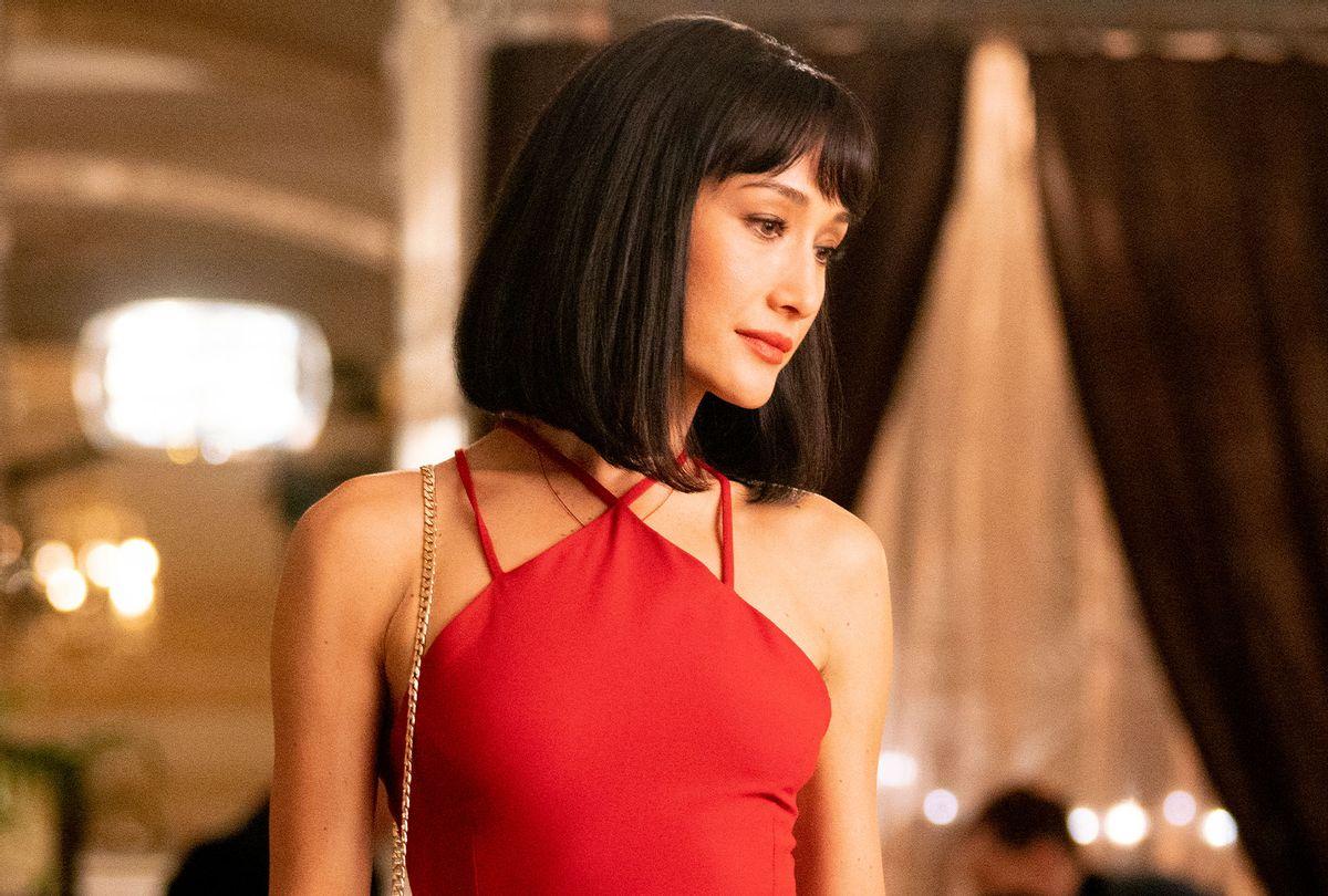 Maggie Q stars as 'Anna' in The Protégé (Simon Varsano/Lionsgate)