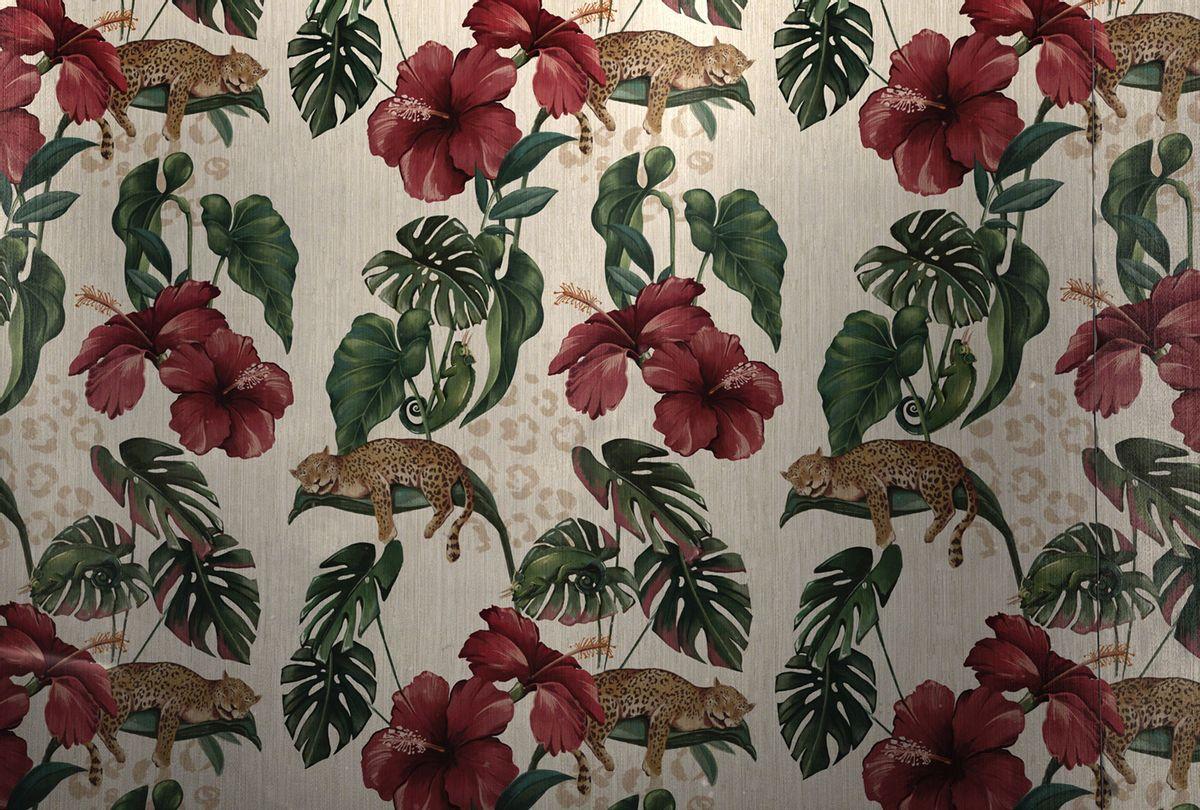 """The White Lotus"" main titles wallpaper - Hibiscus (HBO)"