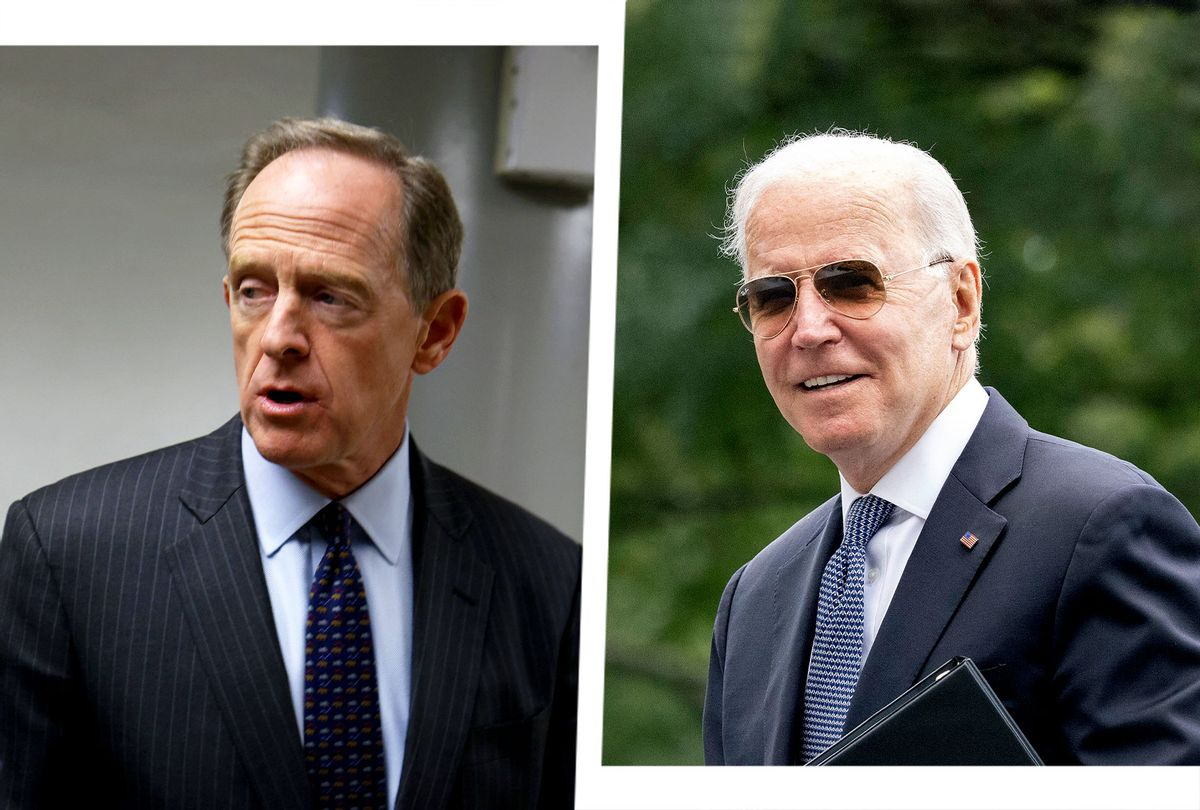 Pat Toomey and Joe Biden (Photo illustration by Salon/Getty Images)