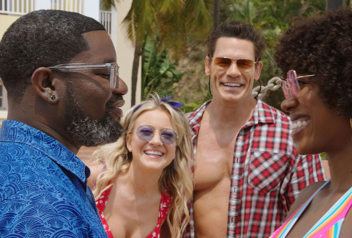 """Vacation Friends"""" is a happy buddy comedy in a world where race doesn't  matter. That's a problem 