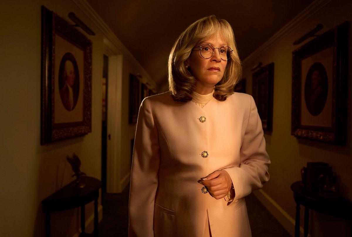 "Sarah Paulson as Linda Tripp on ""Impeachment: American Crime Story"" (Kurt Iswarienko/FX)"