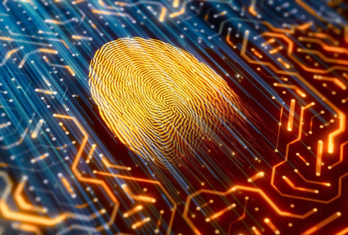 Digital identity fingerprint scanner (Getty Images)