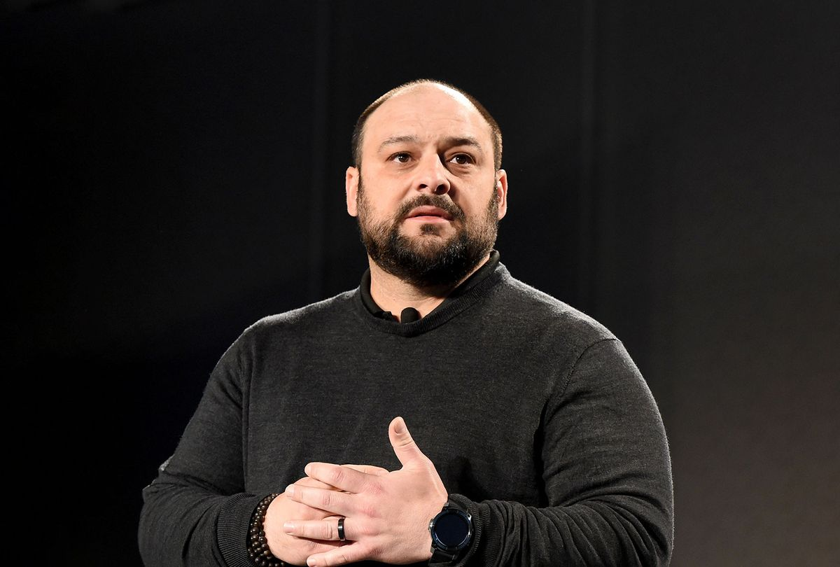 Christian Picciolini, an award-winning television producer, a public speaker, author, peace advocate, and a former violent extremist. (Brittany Murray/MediaNews Group/Long Beach Press-Telegram via Getty Images)