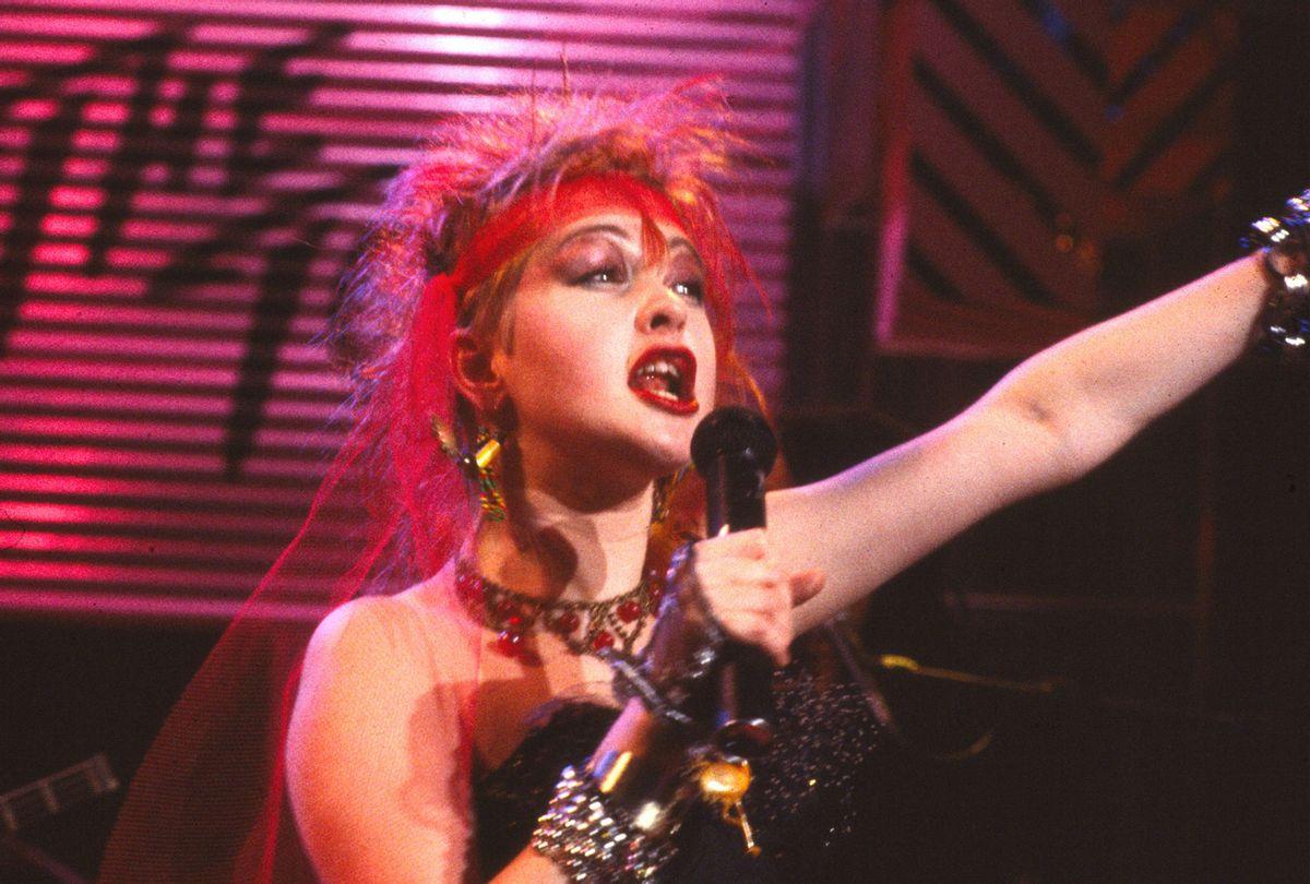 Cyndi Lauper, 1984 (Chris Walter/WireImage/Getty Images)