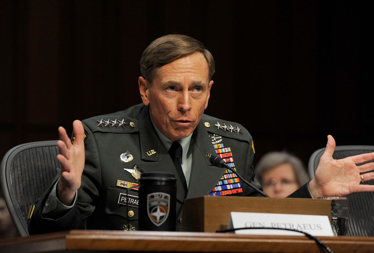 Washington DC General David Petraeus attends his confirmation hearing for CIA Director,  June 23, 2011 (ImageCatcher News Service/Corbis via Getty Images)