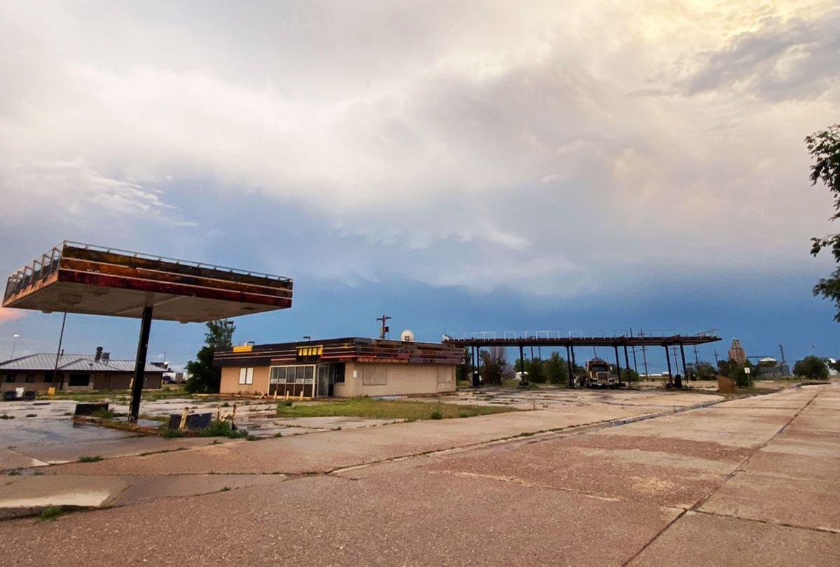 Near the site of the proposed Donald J. Trump Highway in Boise City, Oklahoma (Russell Cobb)
