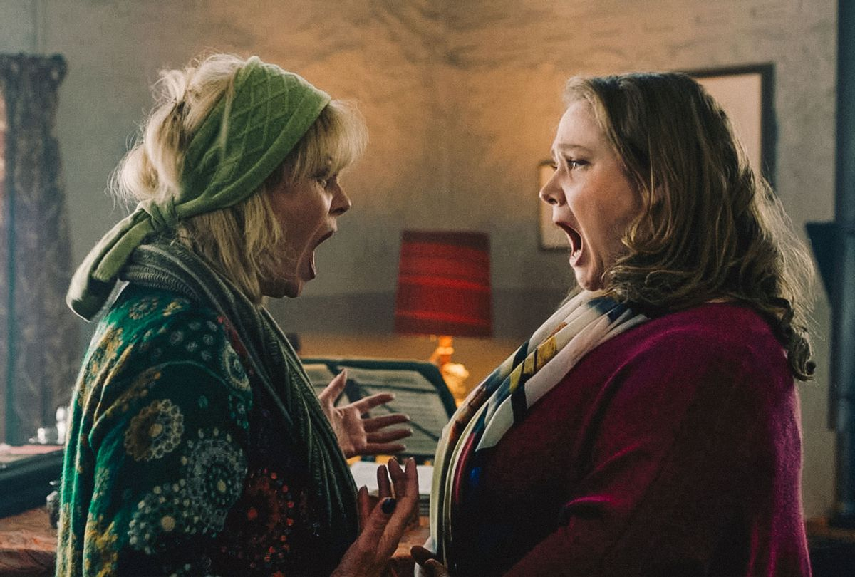 """Joanna Lumley and Danielle Macdonald in """"Falling for Figaro"""" (IFC Films)"""
