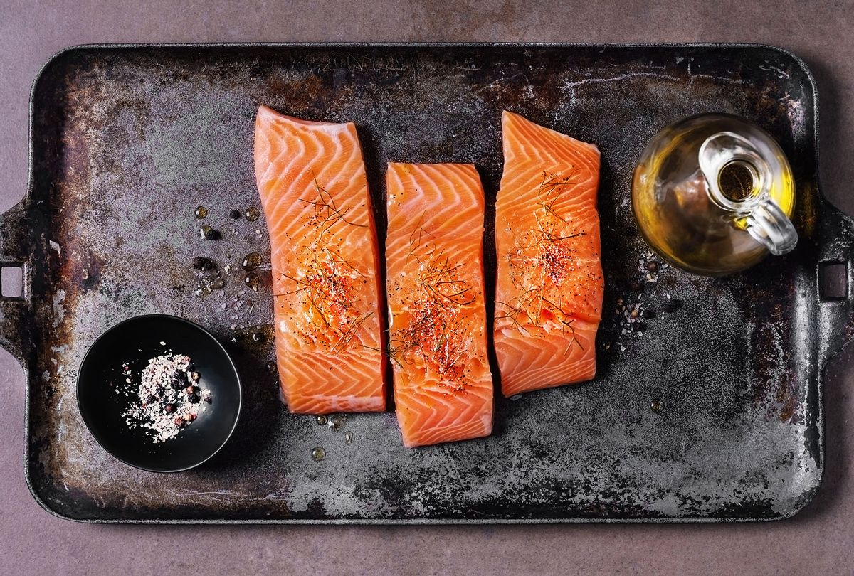 Fresh salmon (Getty Images/Claudia Totir)