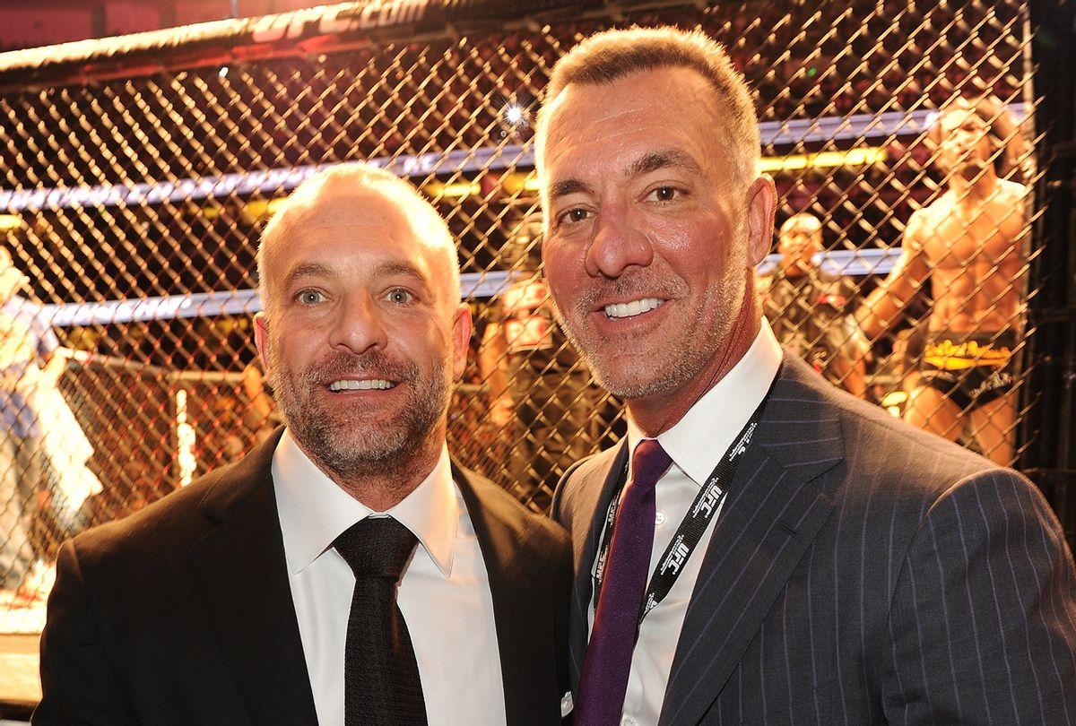Lorenzo Fertitta, left, and Frank Fertitta (Jason Merritt/Getty Images)