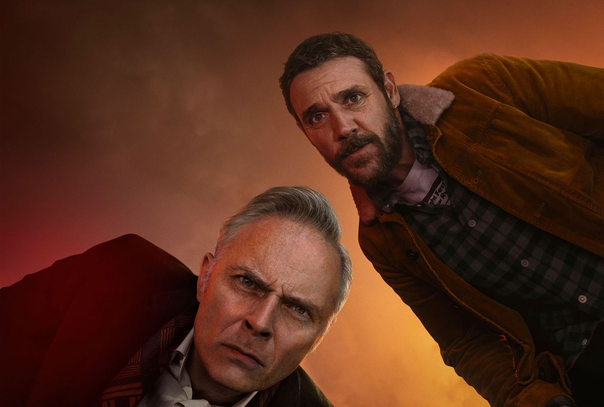 """Mark Bonnar and Jamie Sives in """"Guilt"""" (Expectation/Happy Tramp North/PBS)"""