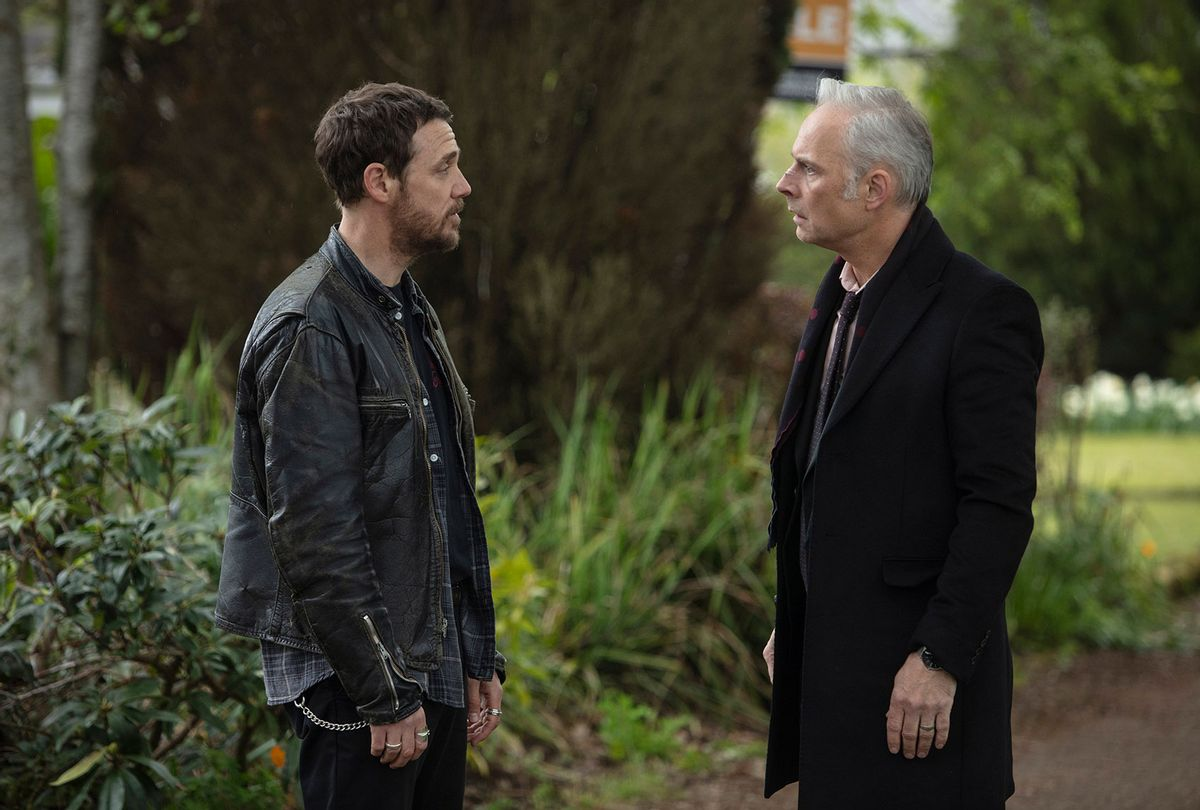 """Jamie Sives and Mark Bonnar in """"Guilt"""" (PBS/Expectation/Happy Tramp North)"""