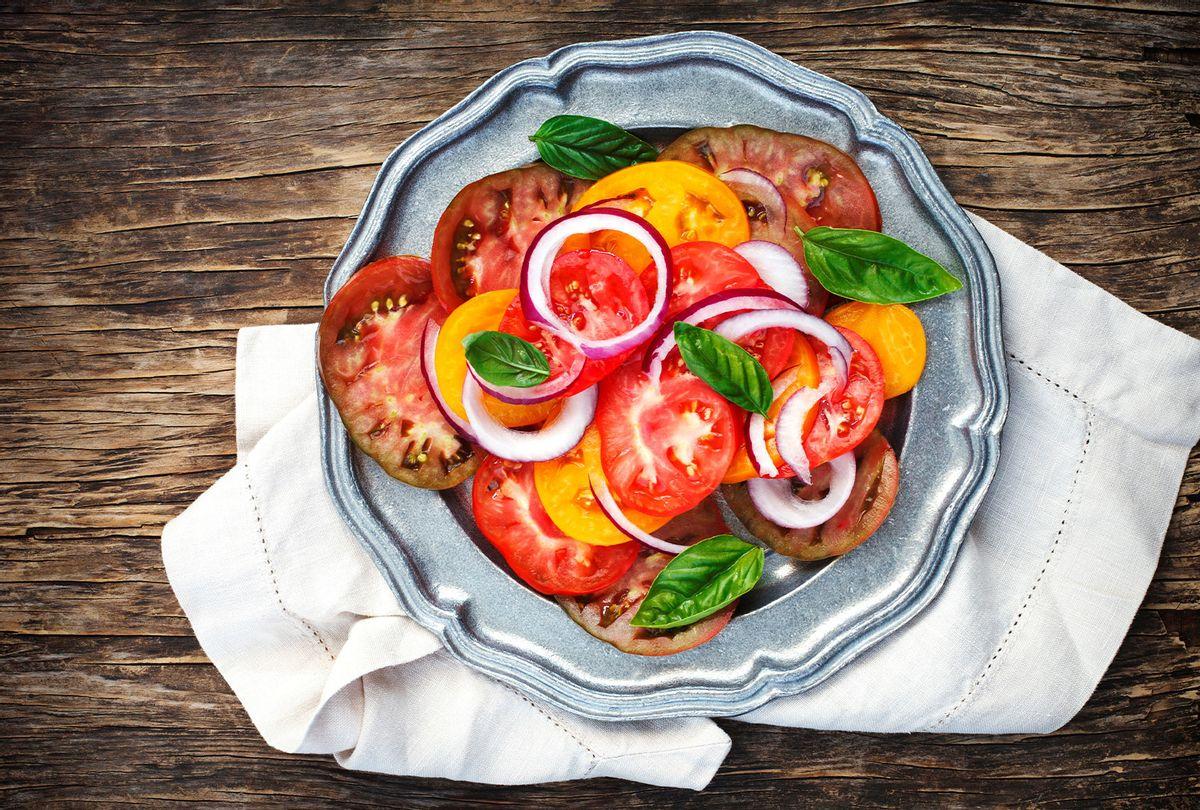 Heirloom tomato salad (Anjelika Gretskaia/REDA&CO/Universal Images Group via Getty Images)