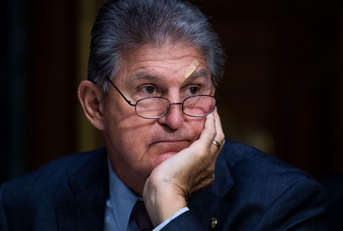 Sen. Joe Manchin (Tom Williams/CQ-Roll Call, Inc via Getty Images)
