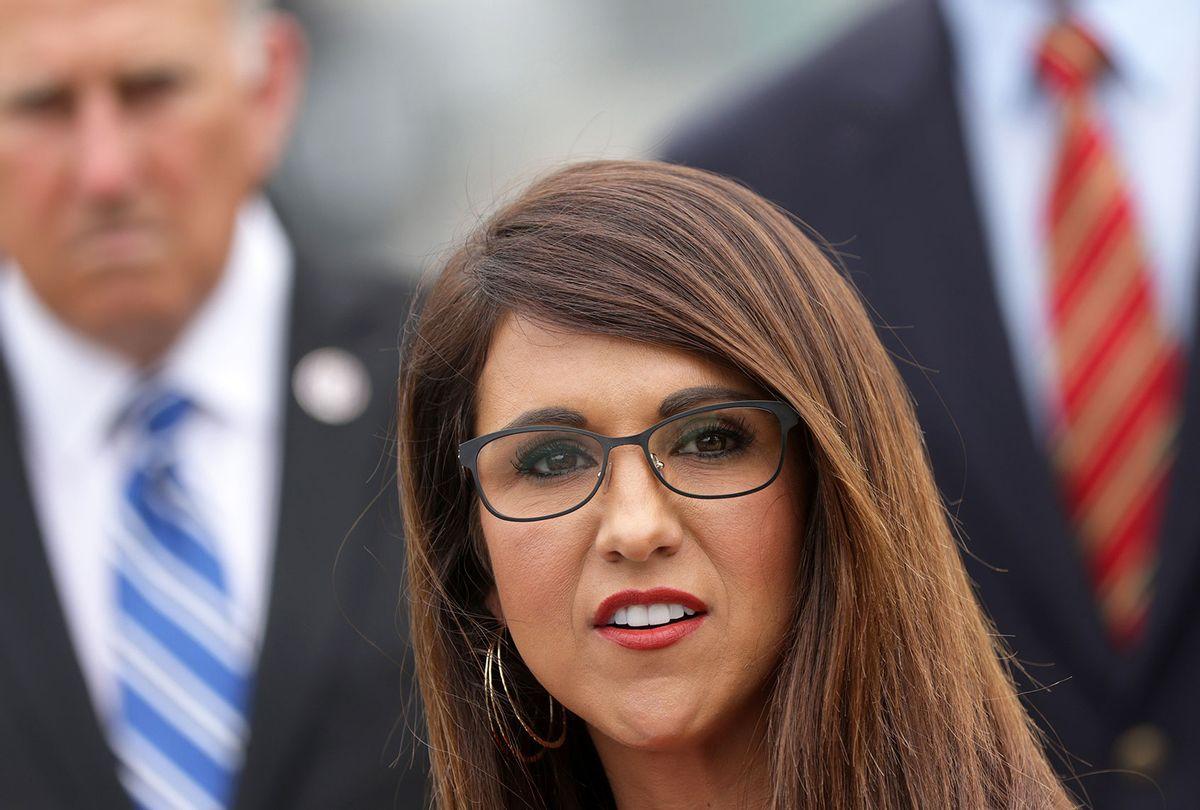 Rep. Lauren Boebert (R-CO) (Alex Wong/Getty Images)