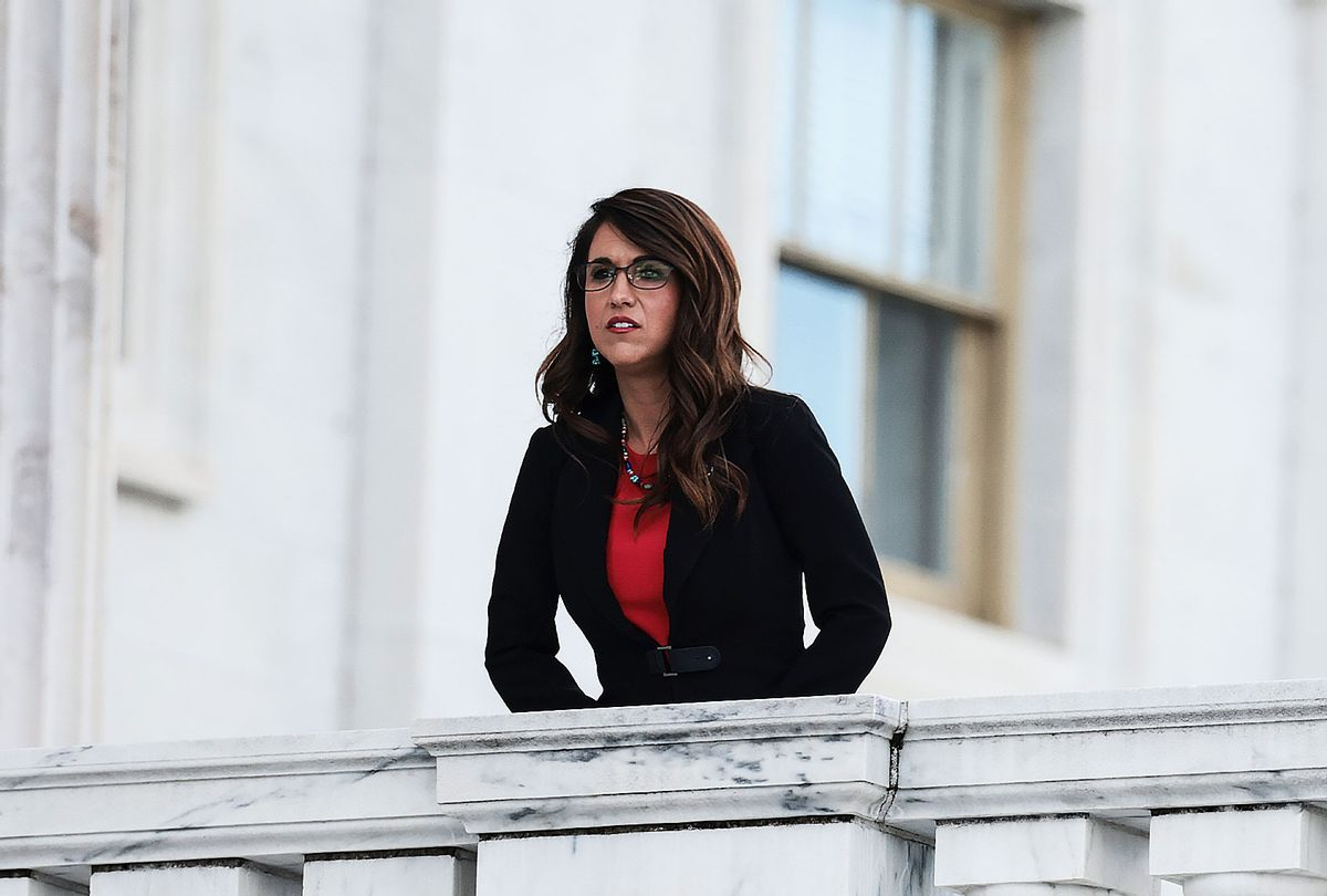 Rep. Lauren Boebert (R-CO) (Anna Moneymaker/Getty Images)