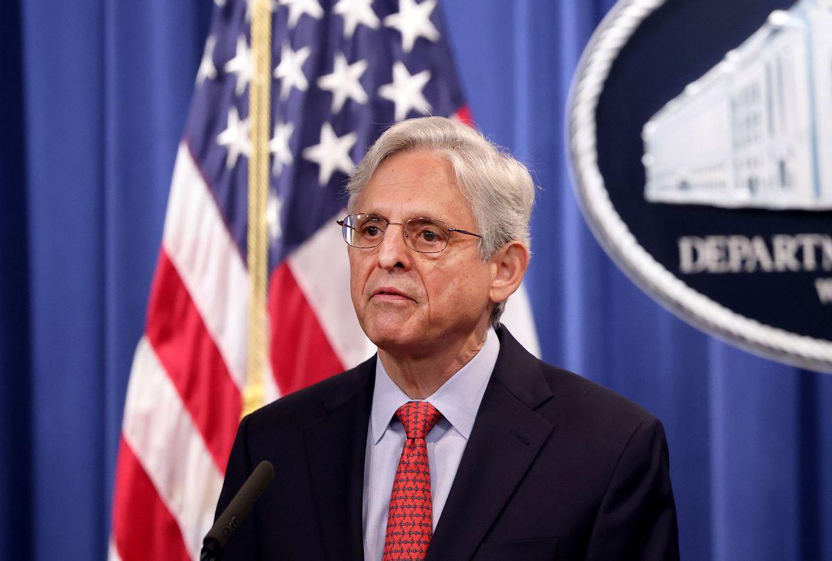 U.S. Attorney General Merrick Garland (Kevin Dietsch/Getty Images)