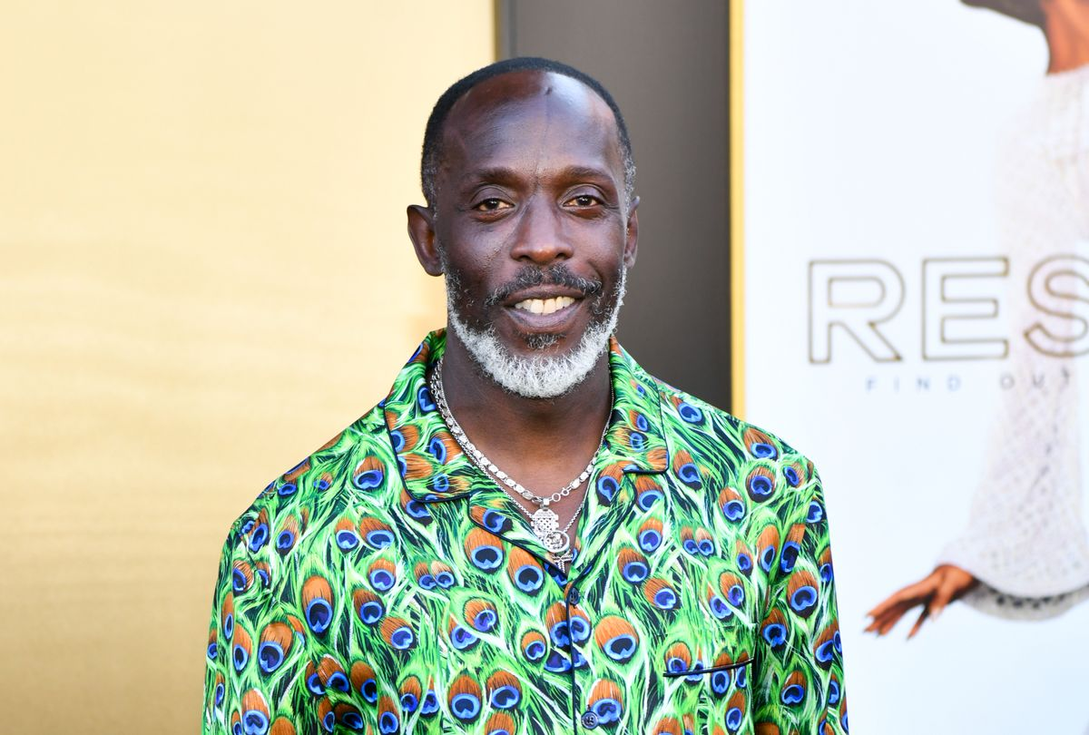 """Michael K. Williams attends the Los Angeles premiere of MGM's """"Respect"""" on August 08, 2021 in Los Angeles (Rodin Eckenroth/FilmMagic)"""